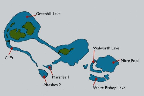 Bishops Bowl Lakes