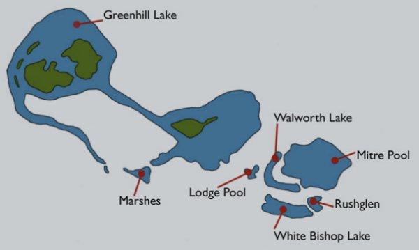 Bishops Bowl Map