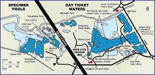 Kingsbury Water Park Map