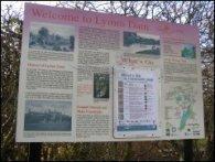 Lymm Dam Notice Board
