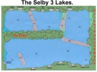 Selby 3 Lakes Map