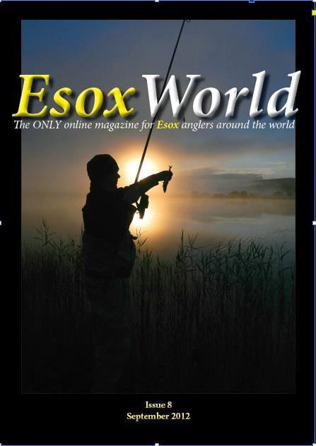 EsoxWorld 8 online pike fishing magazine