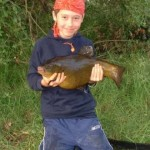 Matthew 8lb 6oz tench