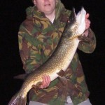 Andy Webster 17lb pike