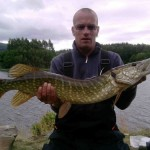 Greg 10lb 7oz pike
