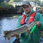 Deadbait canal pike