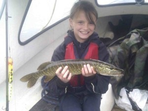 Olivia's first pike