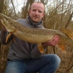 James Hinley 15lb 3oz pike