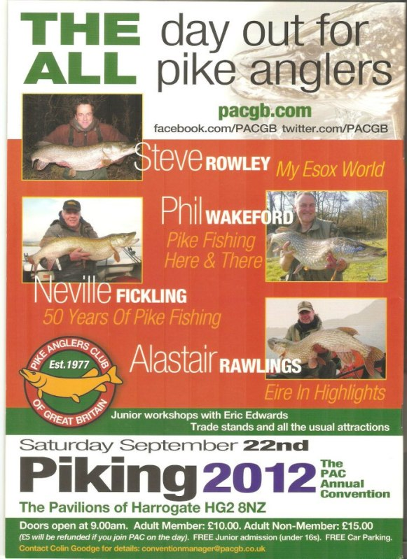 Piking 2012 PAC Convention Poster