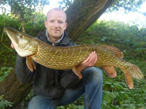 James Hinley 24lb 15oz Pike